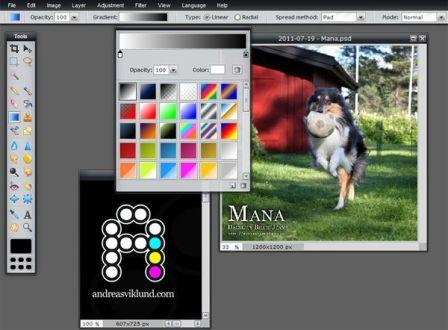 Photoshop онлайн и другие редакторы изображений