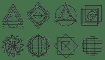 Names of complex 2d shapes