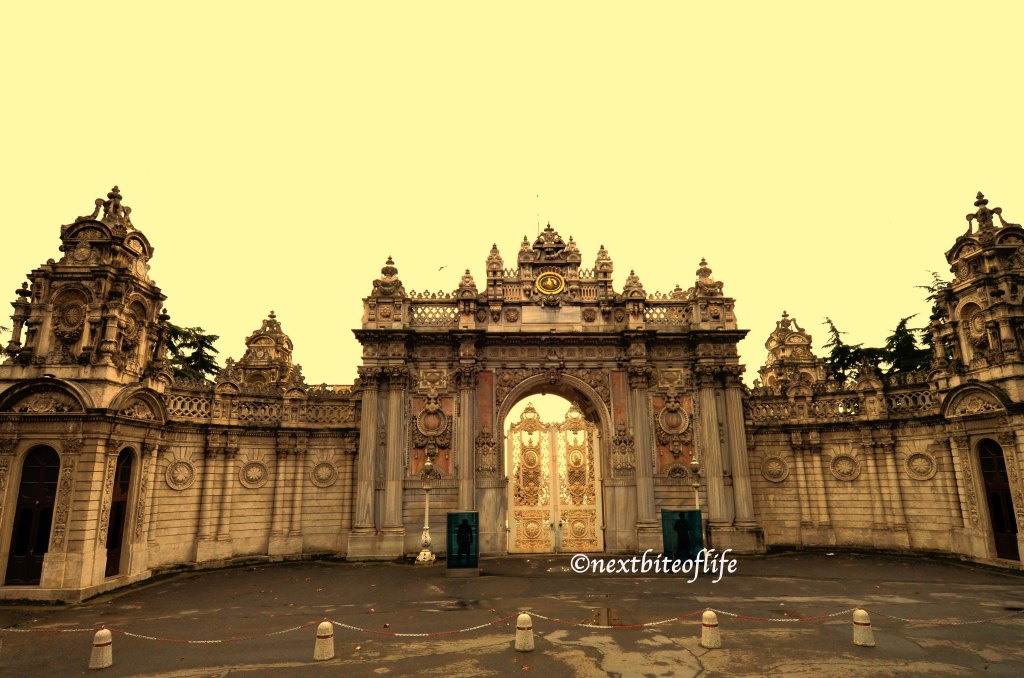 The gates of the Palace