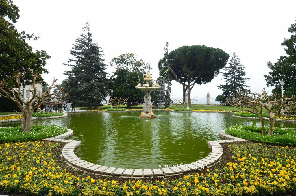 palace gardens istanbul dolbramche