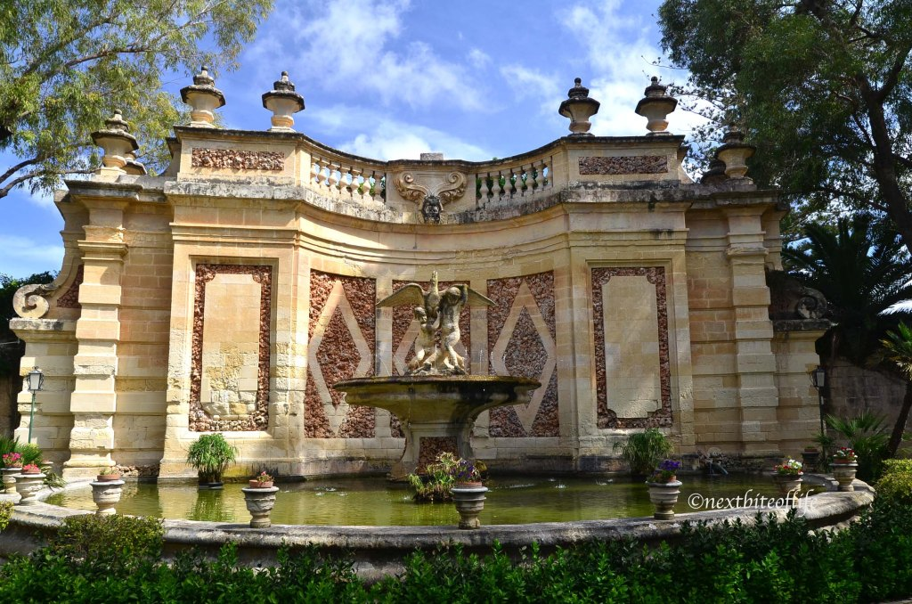 San Anton gardens Malta fountain