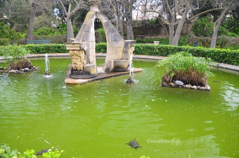 San Anton Gardens fountain