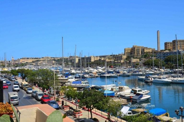 Msida Marina summer view