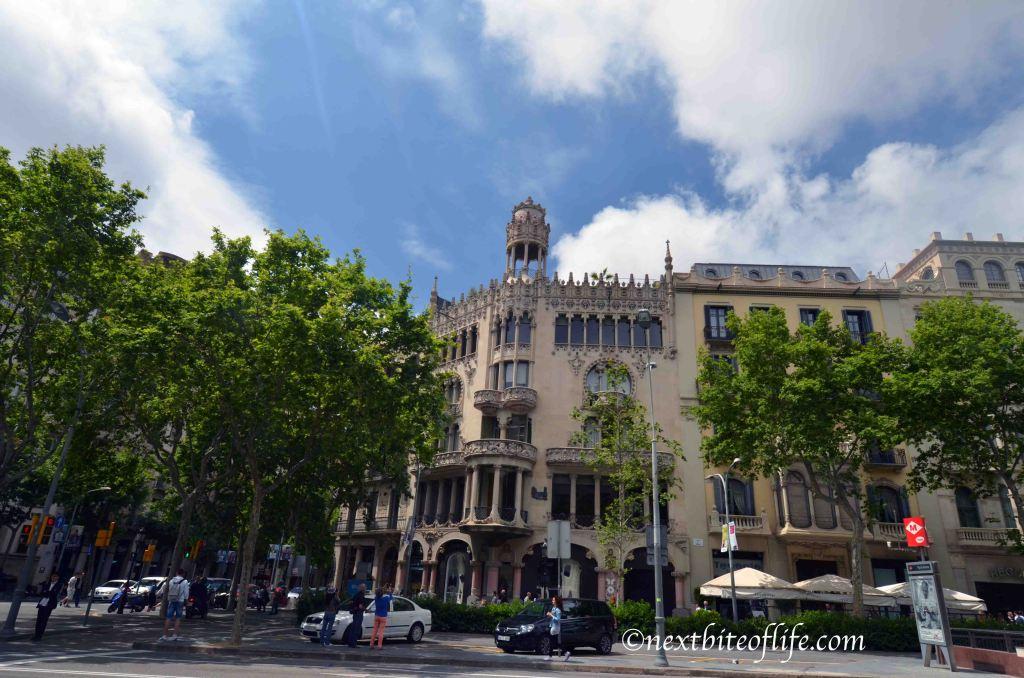 goth building barcelona