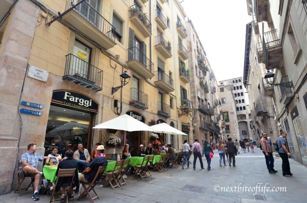 barcelona restaurants and tapas bar