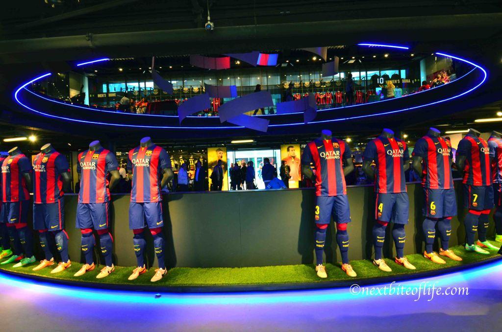 camp nou store barcelona