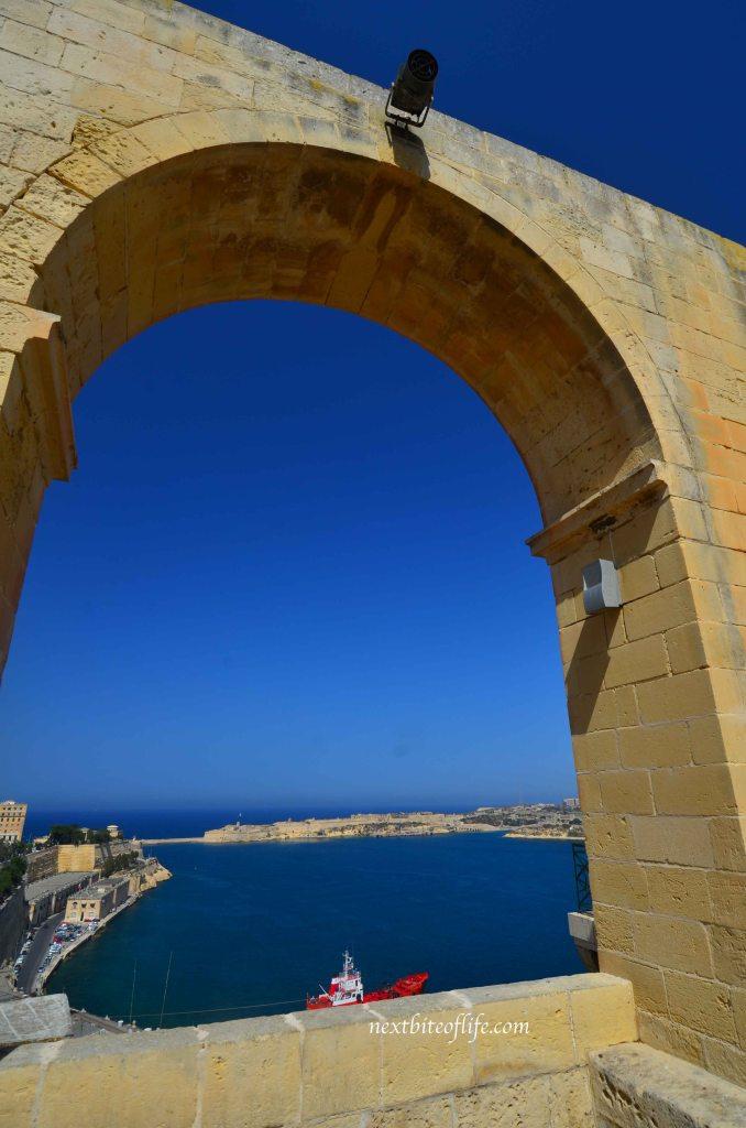 view from the upper Barrakka gardens #barrakkagardens #malta #valletta #seaviews