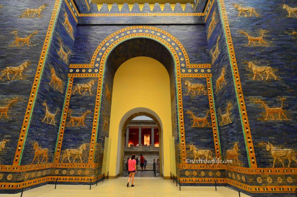 ishtar gate at the pergamon museum