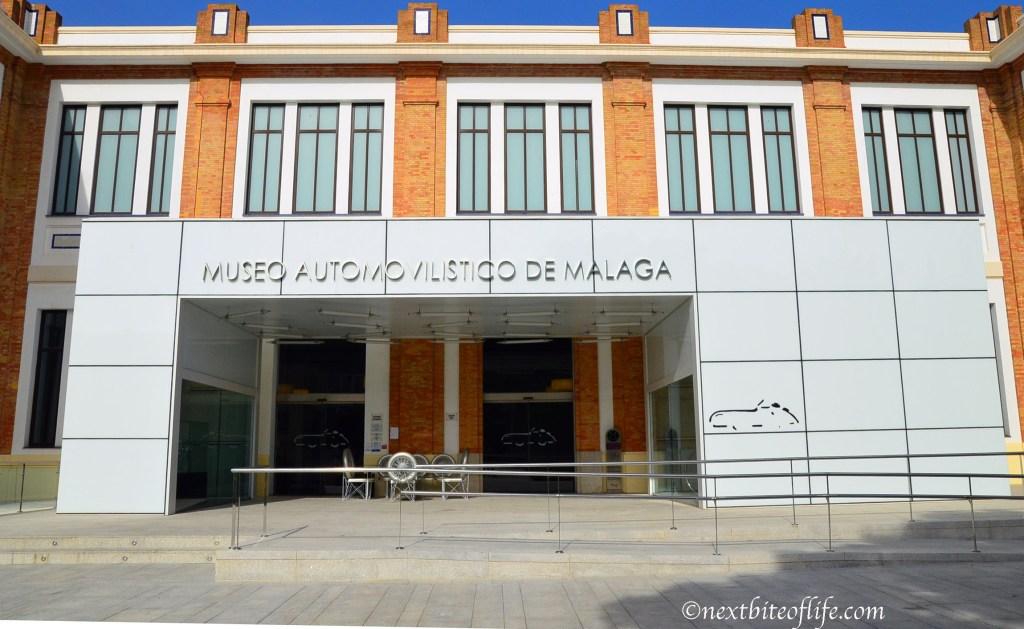 Entrance to museo automovilistico
