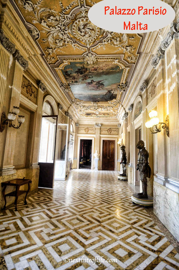 palazzo parisio naxxar malta hallway