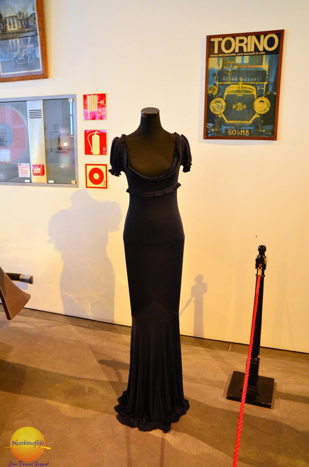 The Naomi Campbell dress.