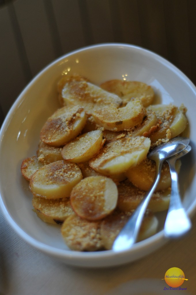 Potatoes at poggio dei cavalieri