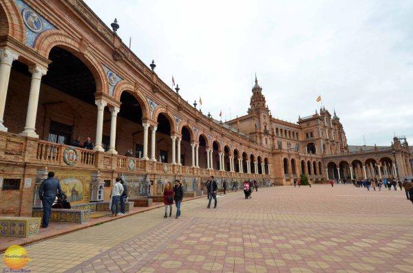 Plaza De Espana In Seville Spain - Nextbiteoflife