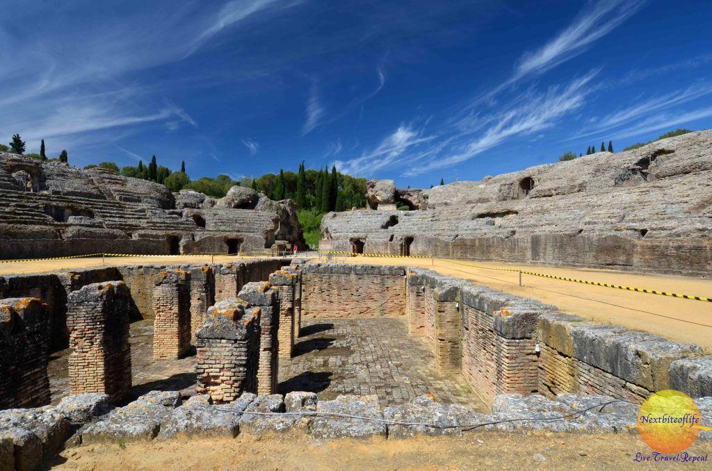 italica amphiteatre underground