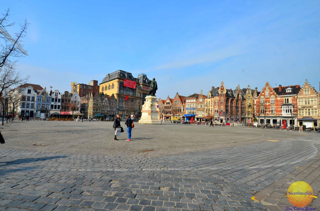 ghent belgium center square