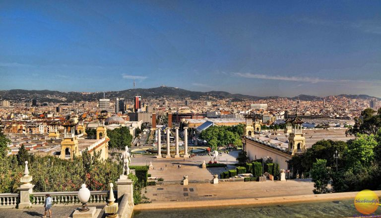 MNAC Barcelona view