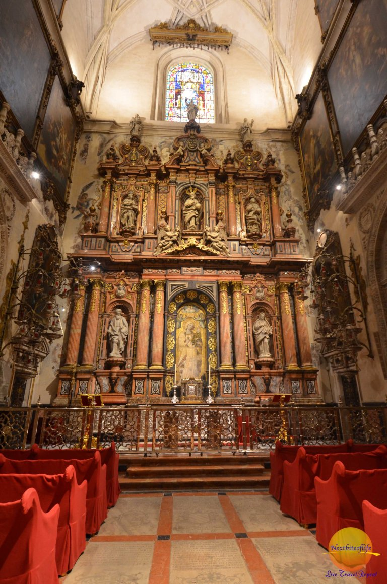 seville cathedral chapel