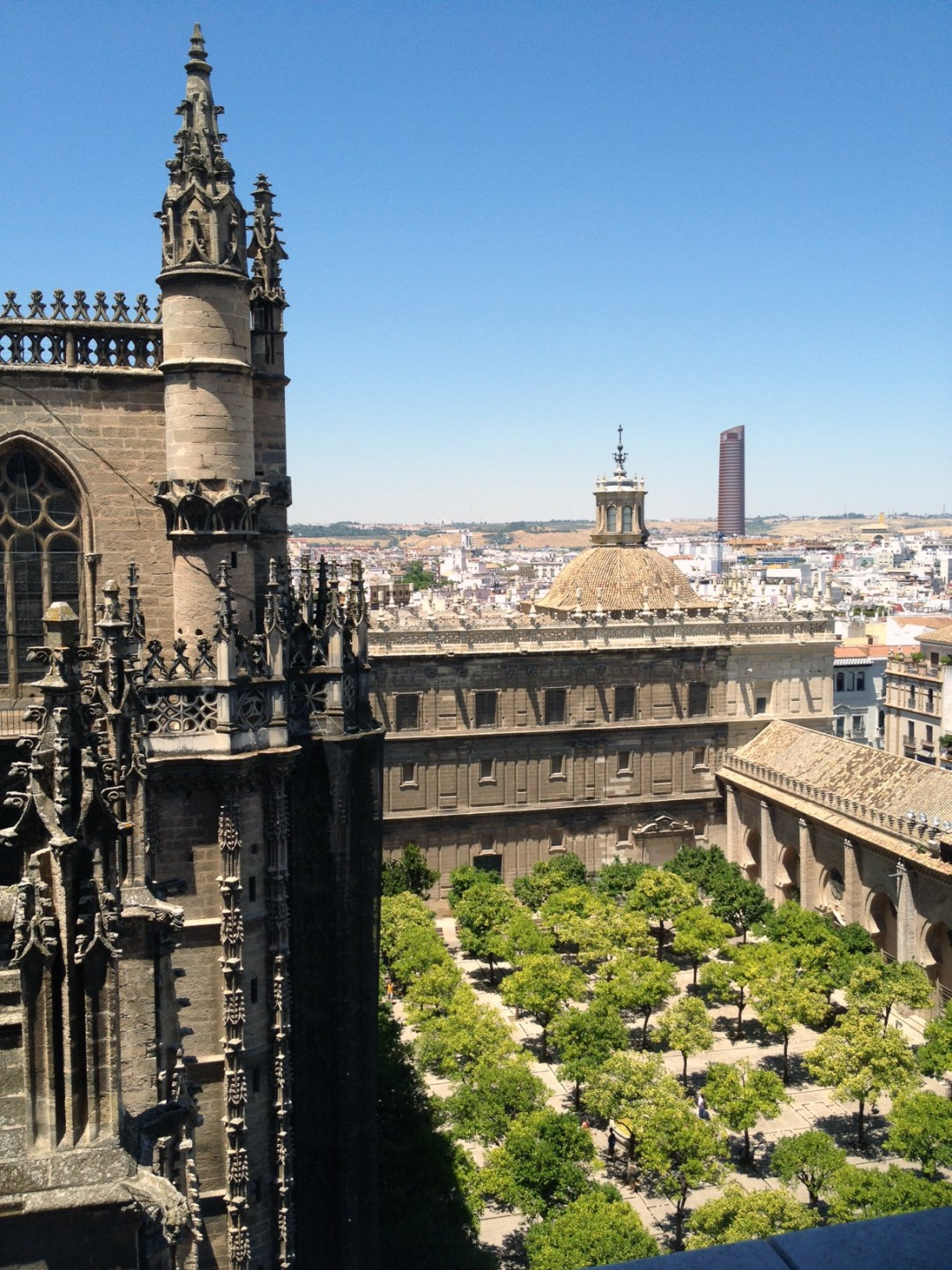 seville cathedral view 2