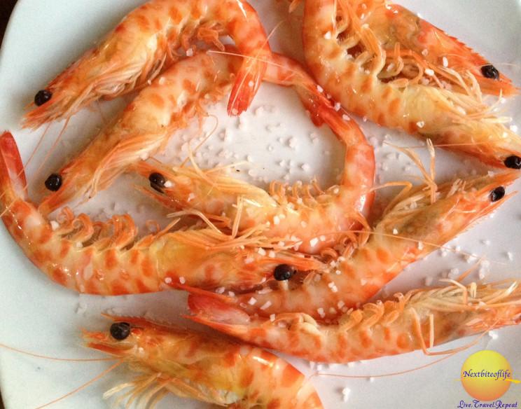 I loved the shrimp..