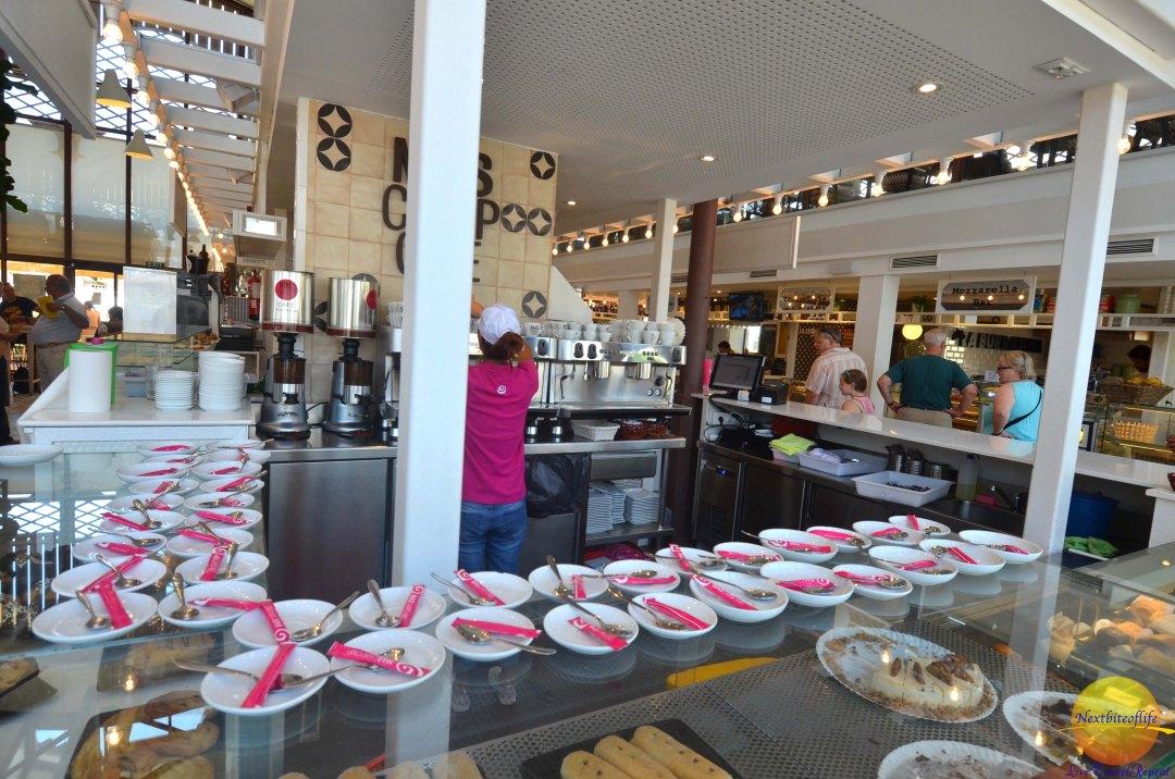 mozzarella stall at mercado barranco!
