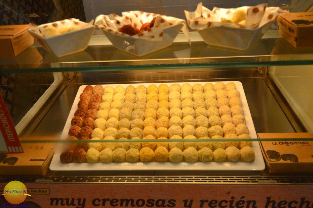 crocquettas at mercado barranco seville