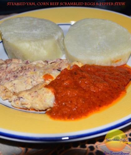 A favorite Sunday breakfast for Nigerians.