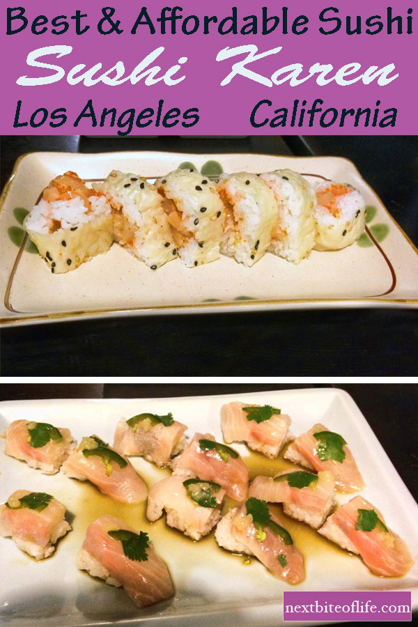 Sushi Karen Los Angeles #sushi #bestsushiLA #LosAngelessushi #japanesefood