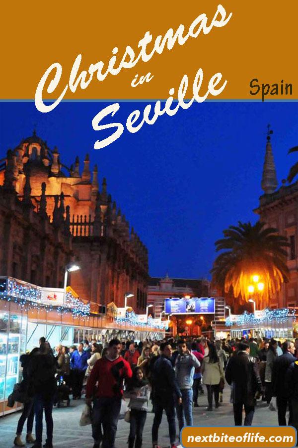 Christmas in Seville #christmasmarket #seville #spian #christmasinspain #sevillechristmas
