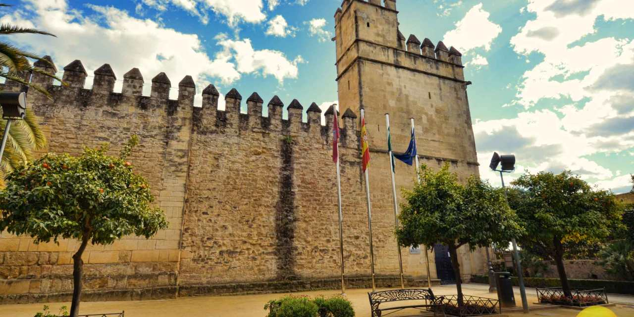 Historic Alcazar Of Cordoba Spain Spanish Inquisition Fortress # Muebles German Cordoba Capital