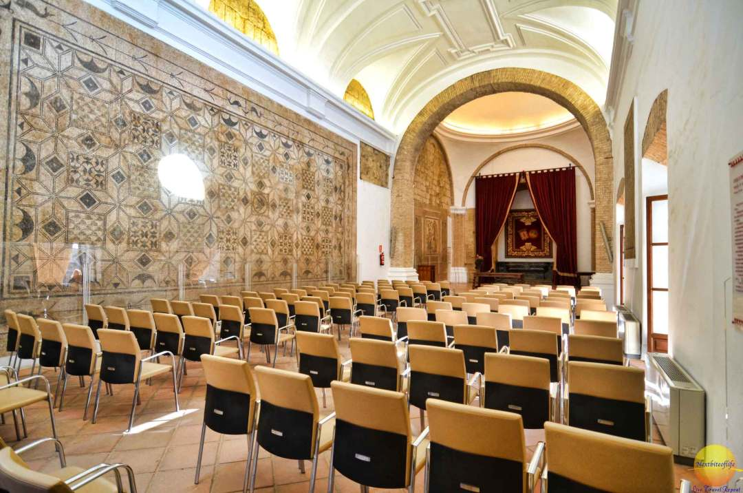 hall of mosaics alcazar of cordoba