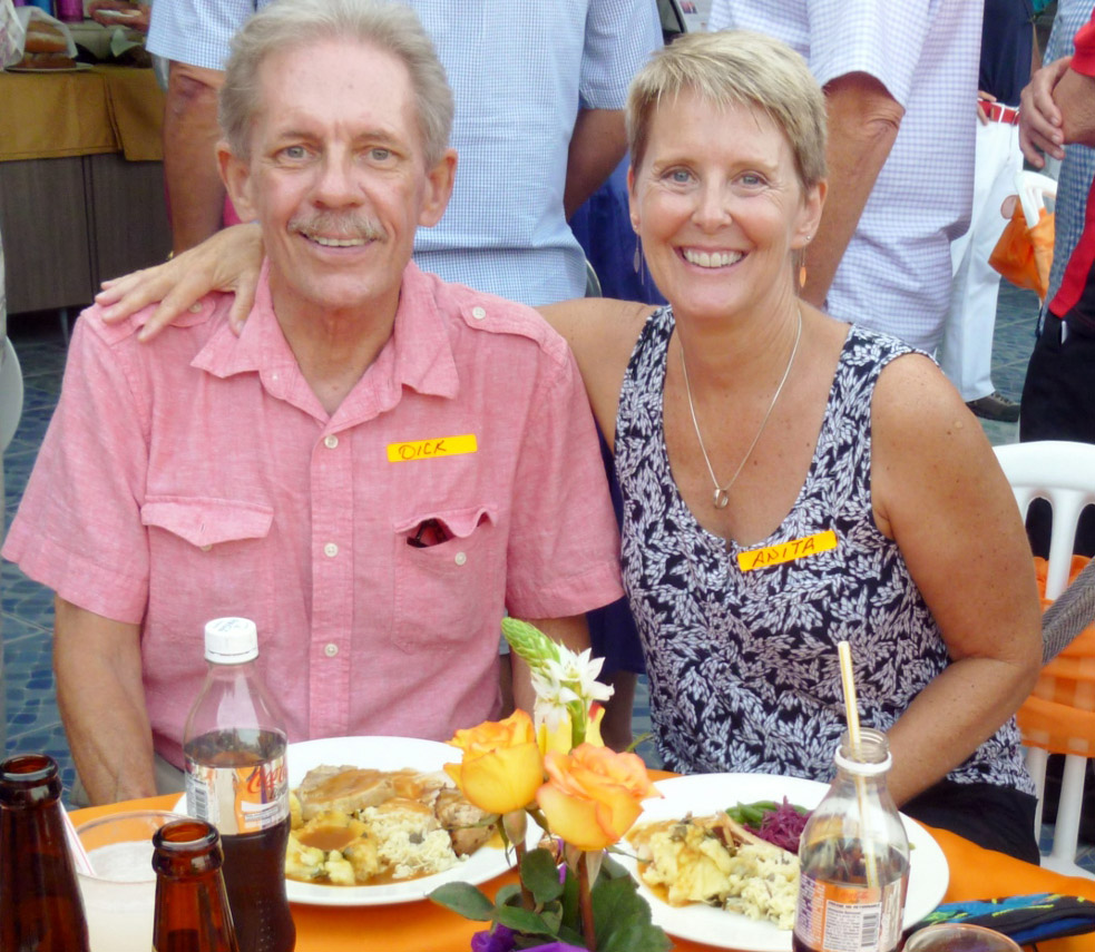 anita and richard in portugal podcast with expat