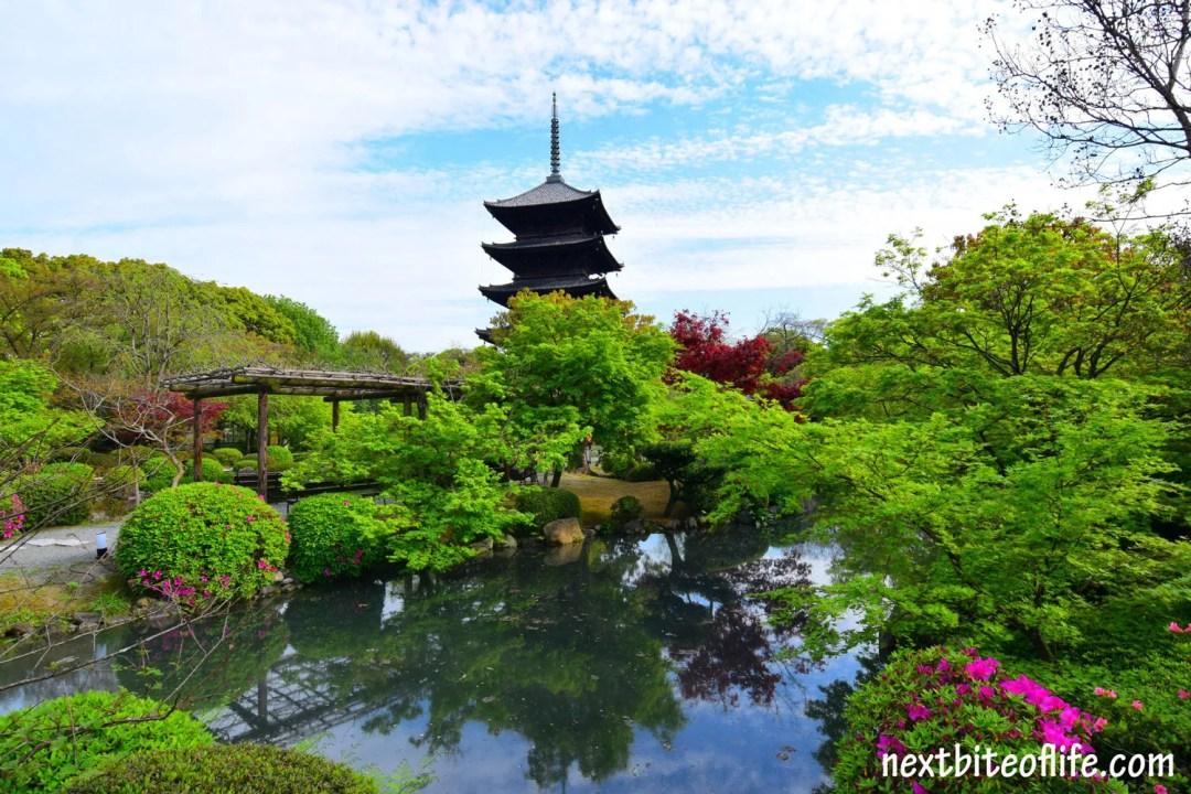 Toji Temple in Kyoto, Japan – A Postcard