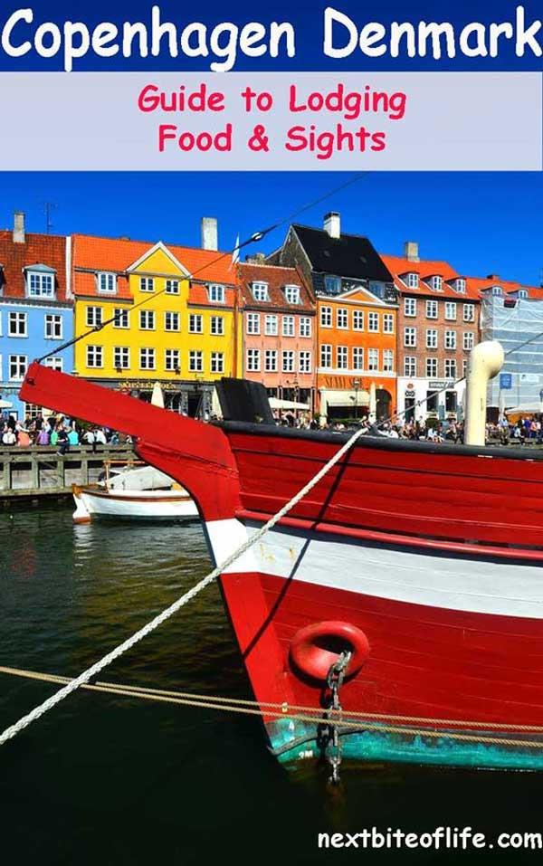 Copenhagen travel guide to lodging, sights and what to eat in Copenhagen. #nyhavn #copenhagen #travel #europe #denmark #copenhagenguide #copenhagentravel #copenhagenitinerary #whattodoincopenhagen #foodincopenhagen