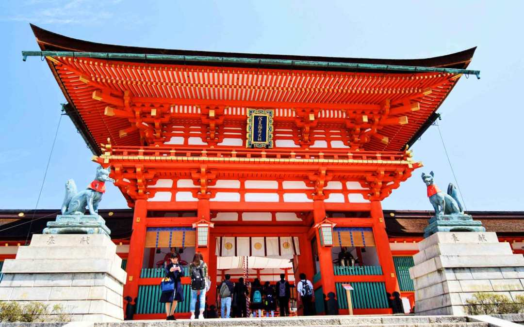 Visiting Fushimi Inari Shrine in Kyoto, Japan