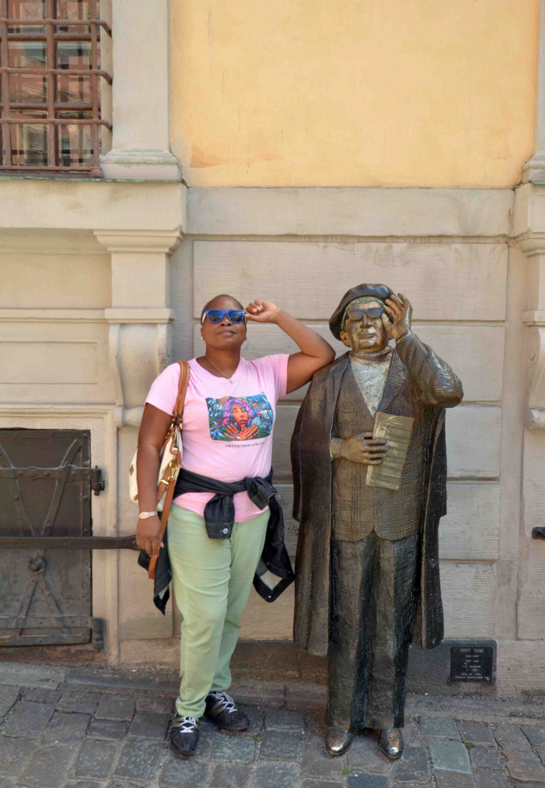 This fellow is helping me navigate Gamla Stan, the old city. What a great place!