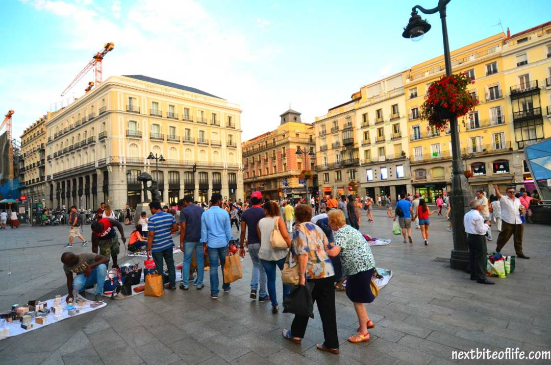 how to spend a day in madrid puerto del sol