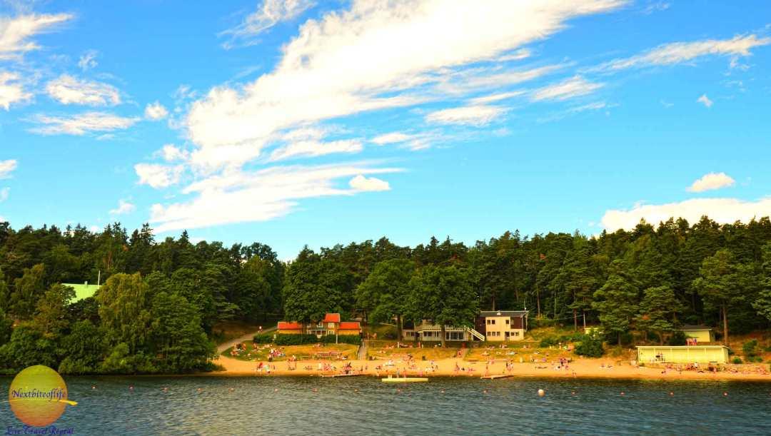 stockholm beach