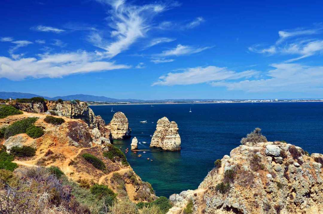 ponta de piedade is the most beautiful spot