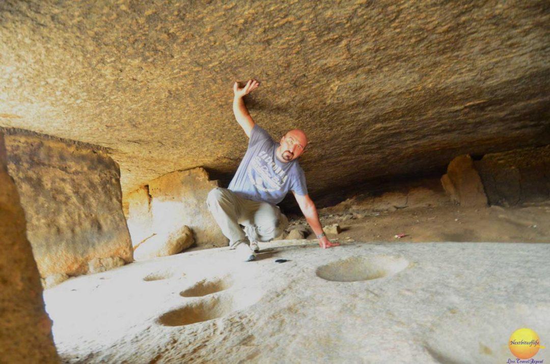 cave at olumo rock abeokuta nigeria