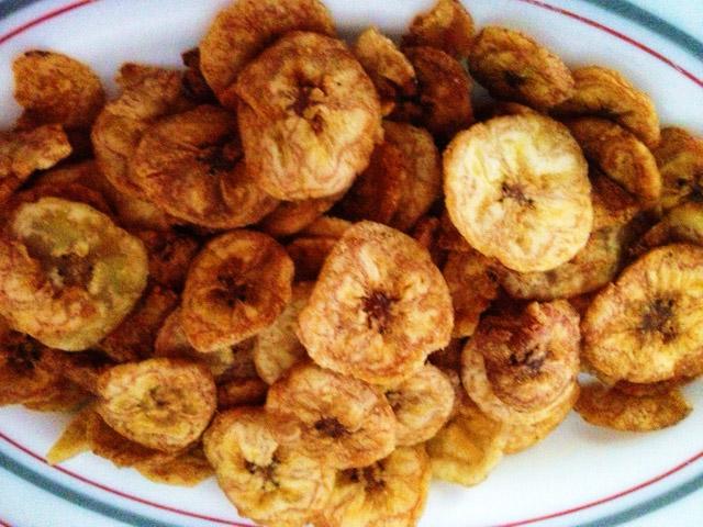 yummy nigerian snack..plantain chips