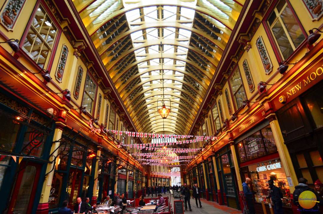 is leadenhall market london astonishing