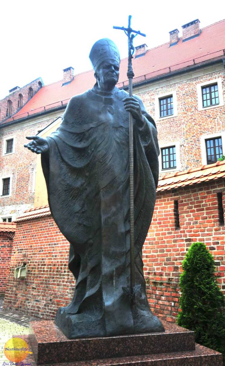 cool useful krakow guide pope john paul II