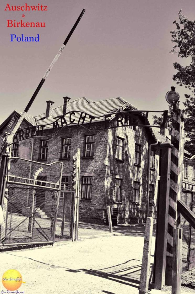 monumental auschwitz front sign pinterest #auschwitz #poland #nazi #holocaust #WW2 #deathcamp
