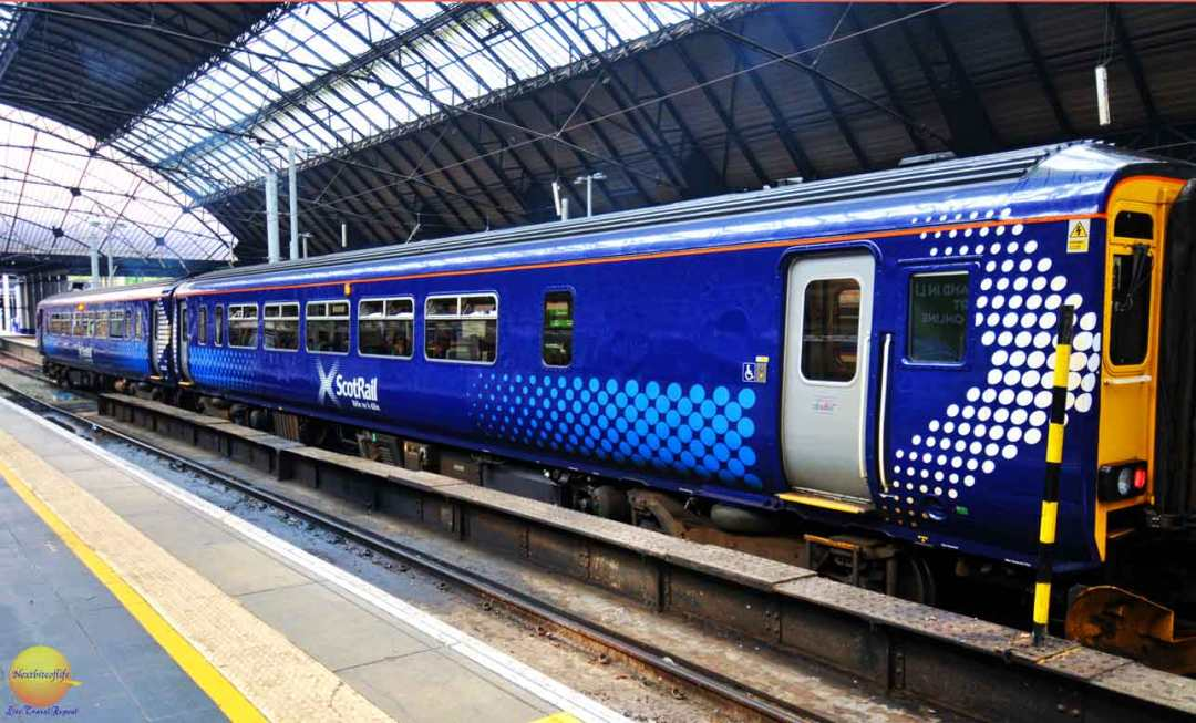 glasgow guide scotrail train glasgow