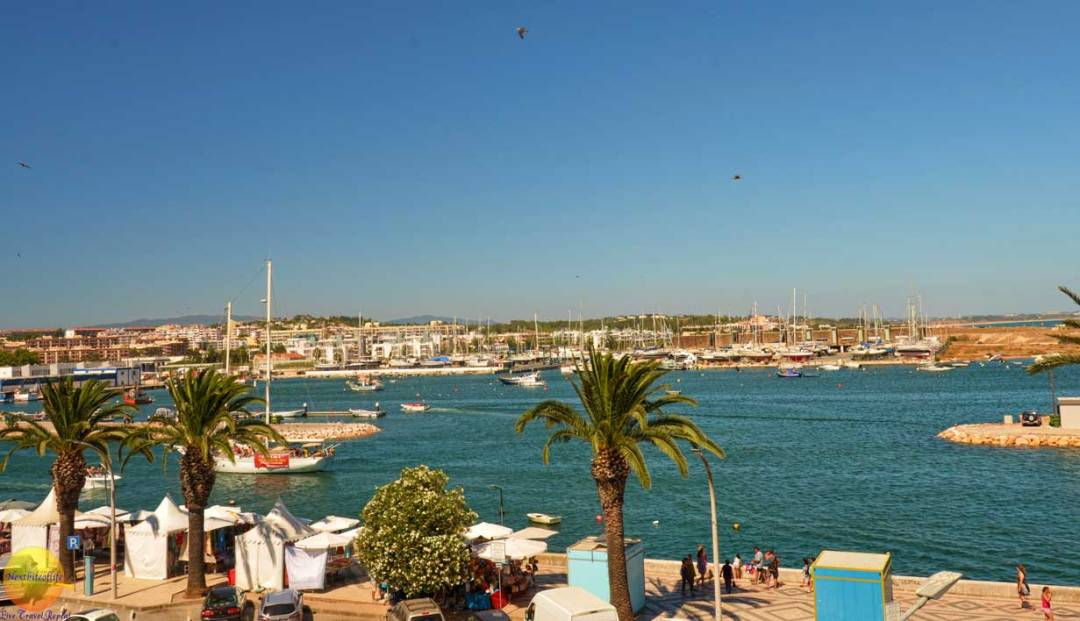Lagos Portugal view with boats