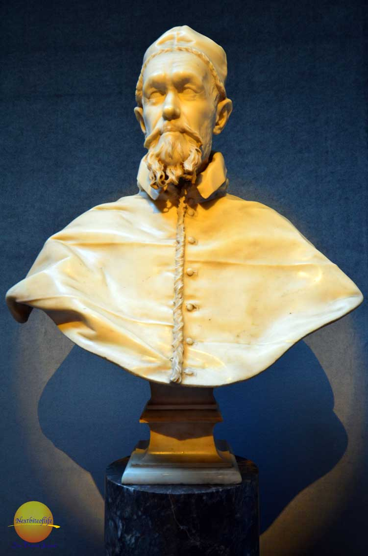cardinal pamphili by bernini