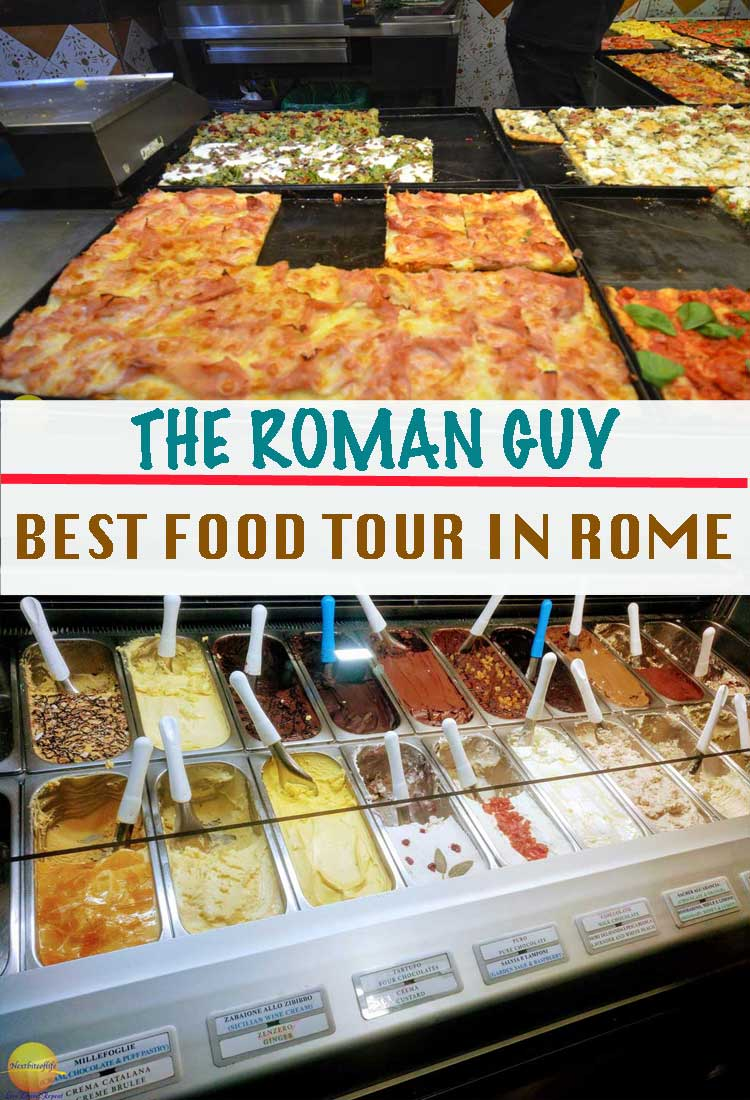 food tour in rome with the roman guy pinterest