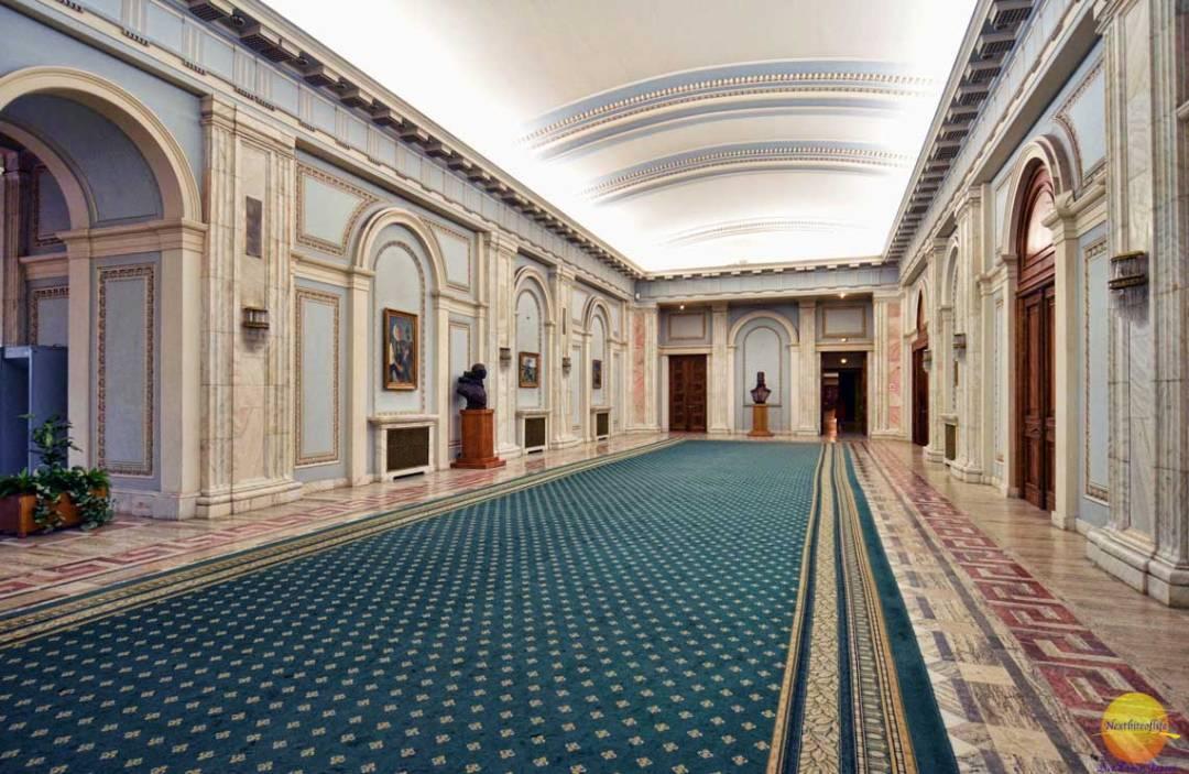house of parliament hallway