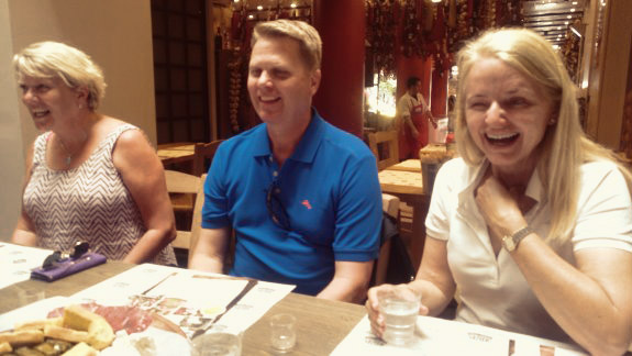 diners in athens greece after drinking raki