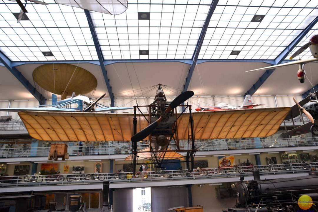 jan kaspar plane on display narodni museum
